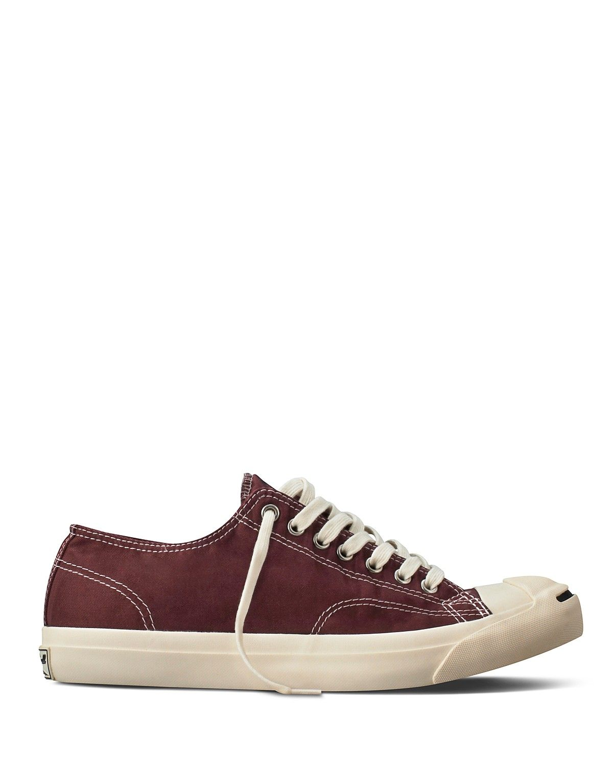 Converse Jack Purcell LP II Sneakers in BrownOff White