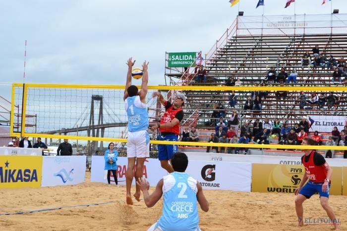 Beach Voley: Argentina le ganó a los campeones olímpicos