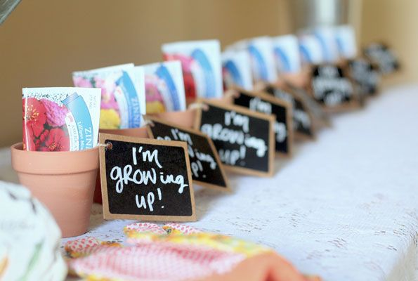 kids garden party growing up favors i went for a more rustic yet girly feel. beautiful ideas. Home Design Ideas