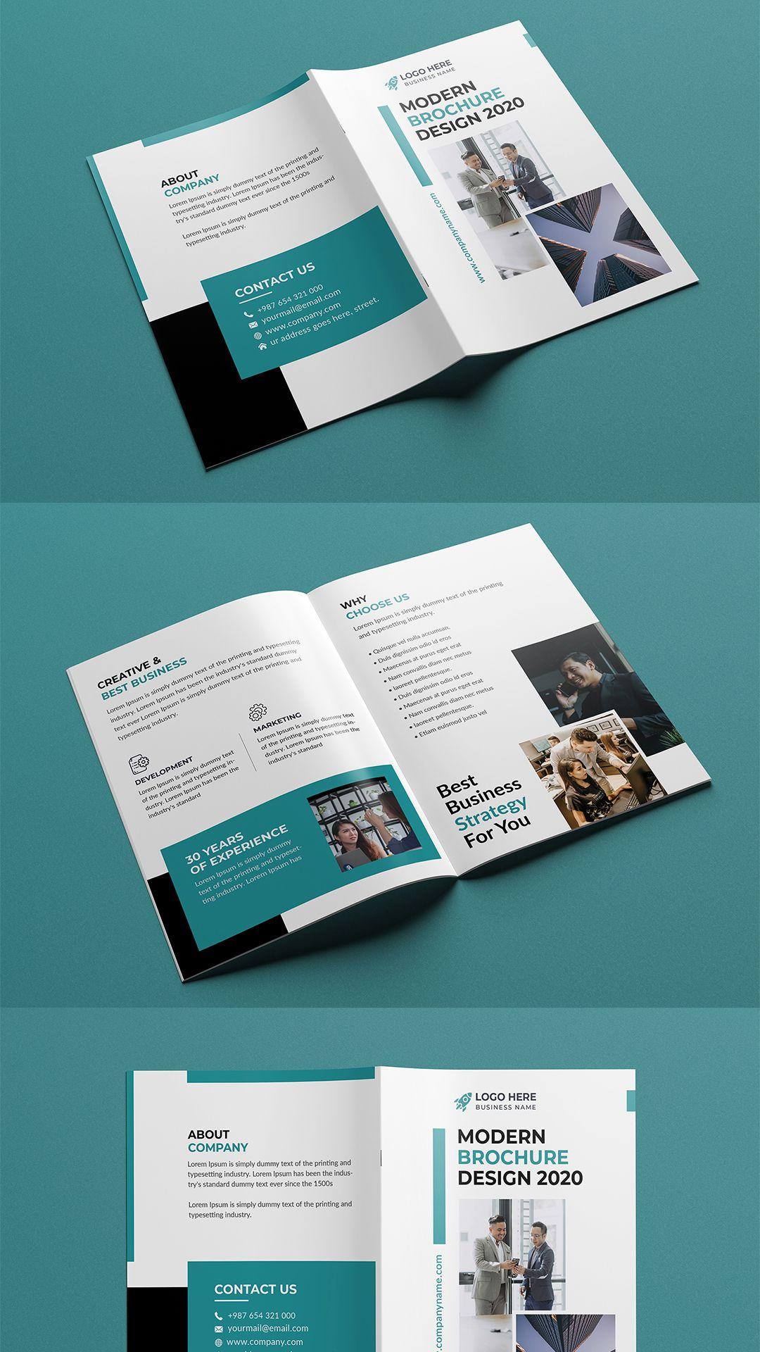 Bi Fold Brochure Bi Fold Brochure Trifold Brochure Template Brochure