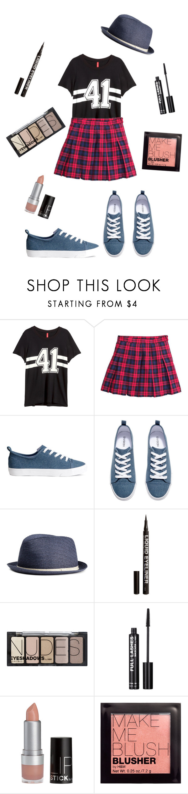 """""""H&M Outfit!"""" by soofnow ❤ liked on Polyvore featuring H&M"""
