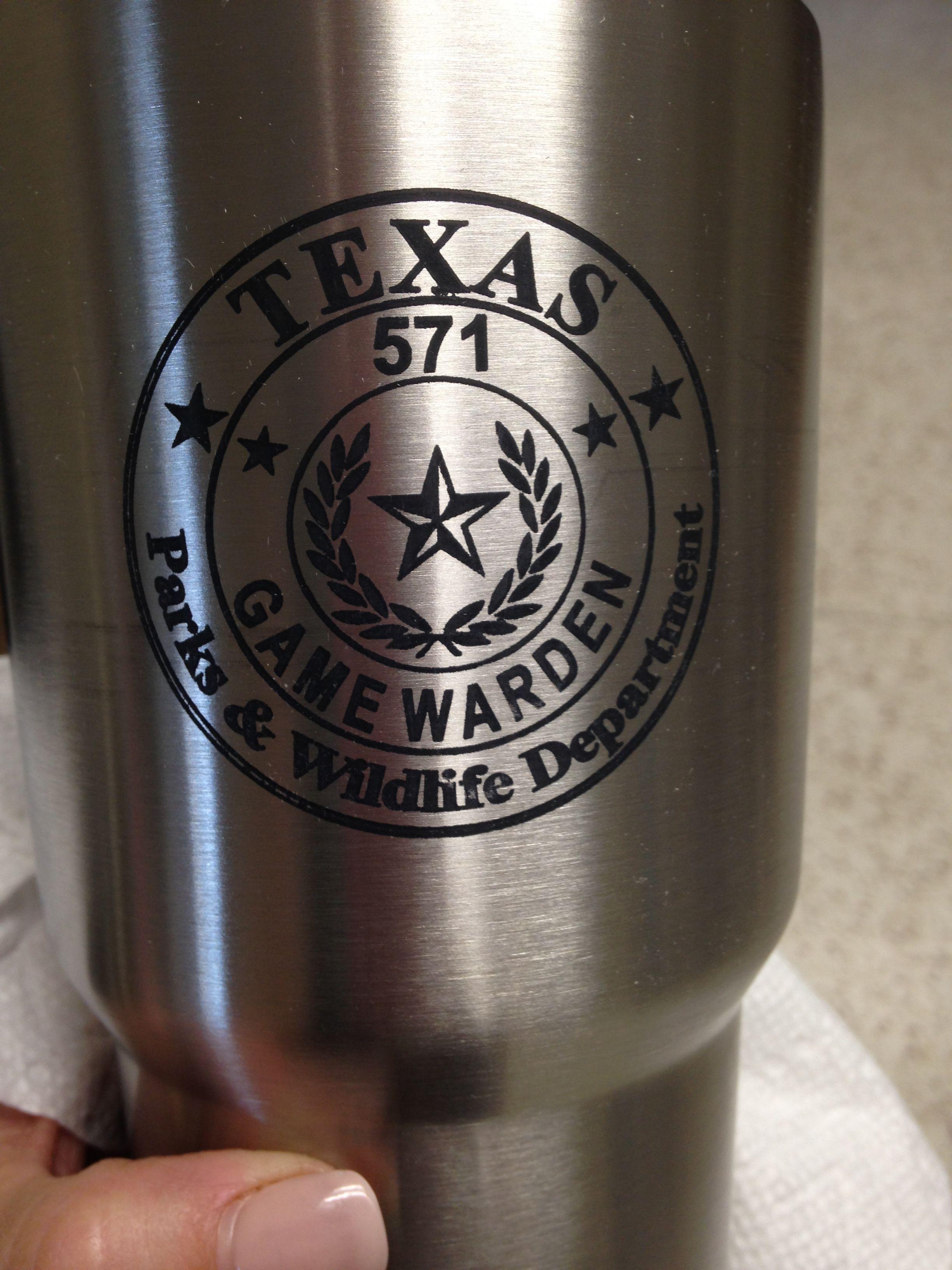Texas Game Warden badge | Custom designs | Pinterest