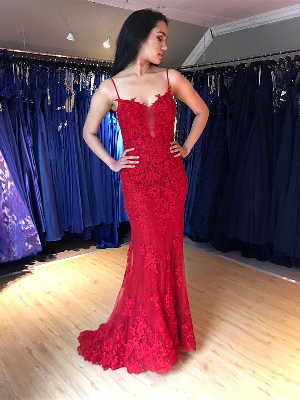 abendkleider rückenfrei rot in 2020 | evening dresses prom