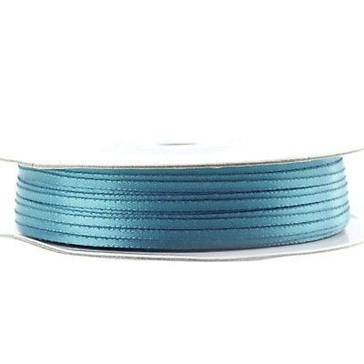 Double Face Satin Ribbon, 1/16-inch, 100-yard, Antique Blue
