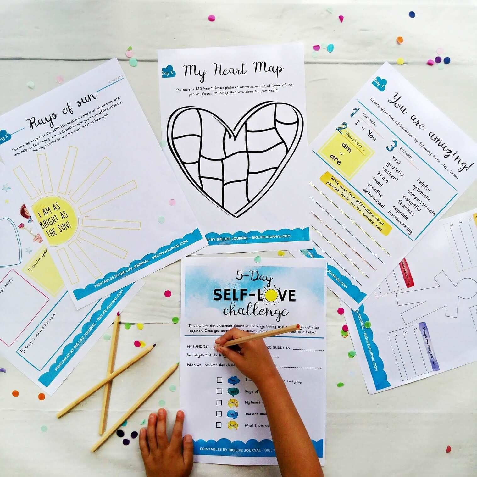 Challenges Kit Pdf Ages 5 12 In 2020 Kindness Activities Kids Journal Learning English For Kids