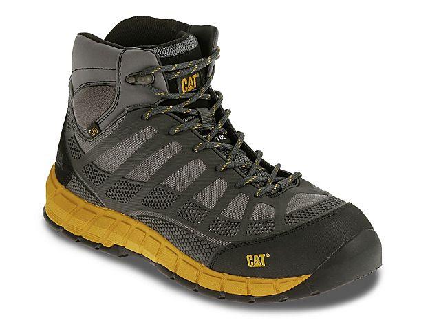 Men Streamline Composite Toe Work Boot -Grey