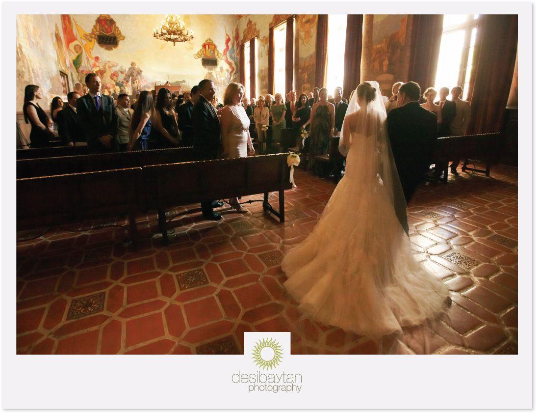 Lisa And Alan Wedding At The Santa Barbara Courthouse Mural Room Montecito Country Club