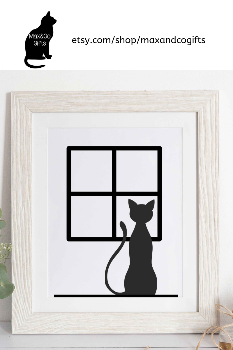 As Cat Wall Decor Or Even Perched On A