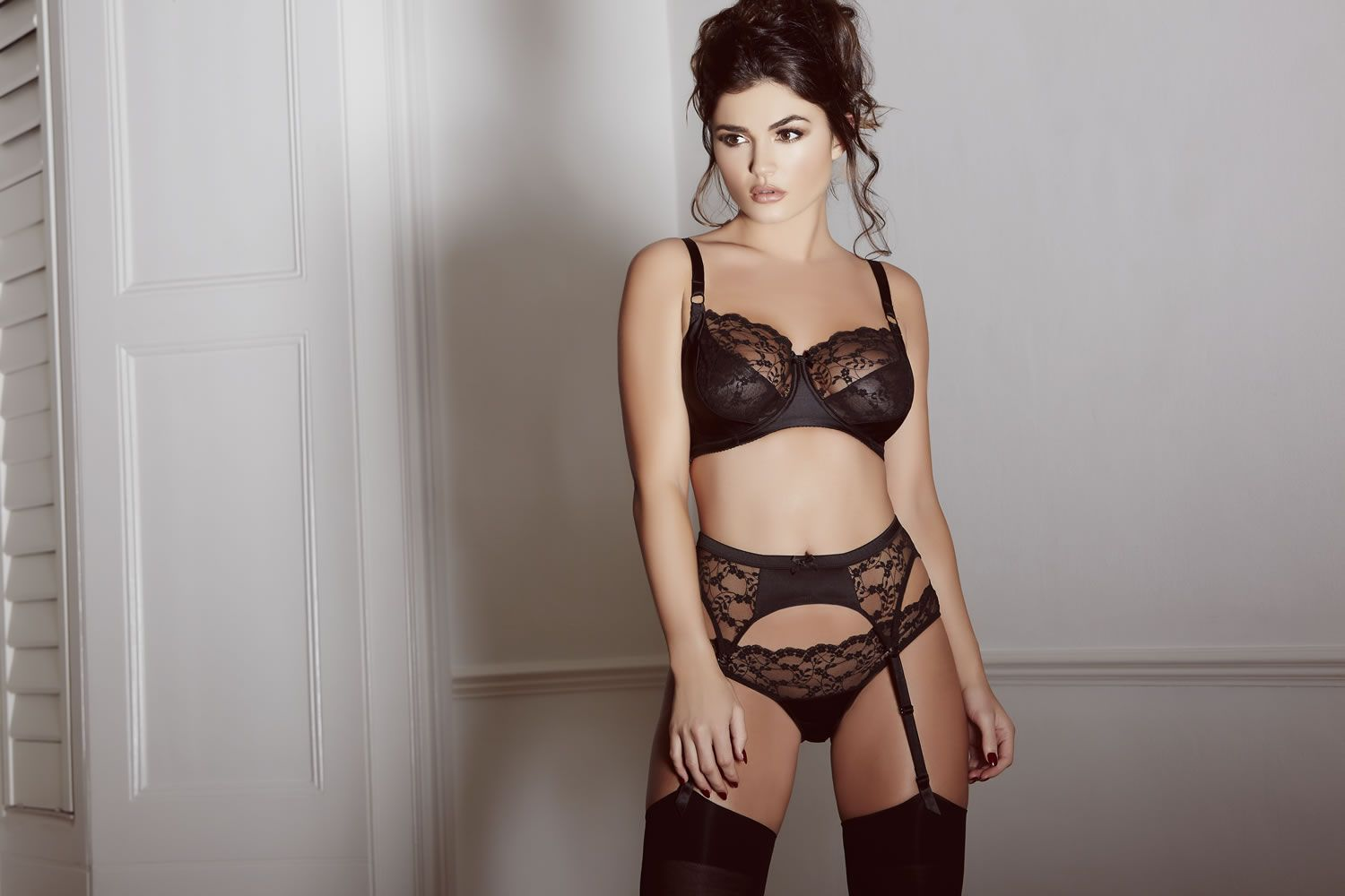 Elegant french lingerie promotion shop for promotional elegant french - Sophia Embraces Classic Elegant Design Composed Of Vintage Inspired Black French Lace And Paired With