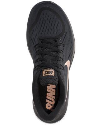 7393a077d2c78 Nike Women s Flex 2017 Run Running Sneakers from Finish Line - Black ...