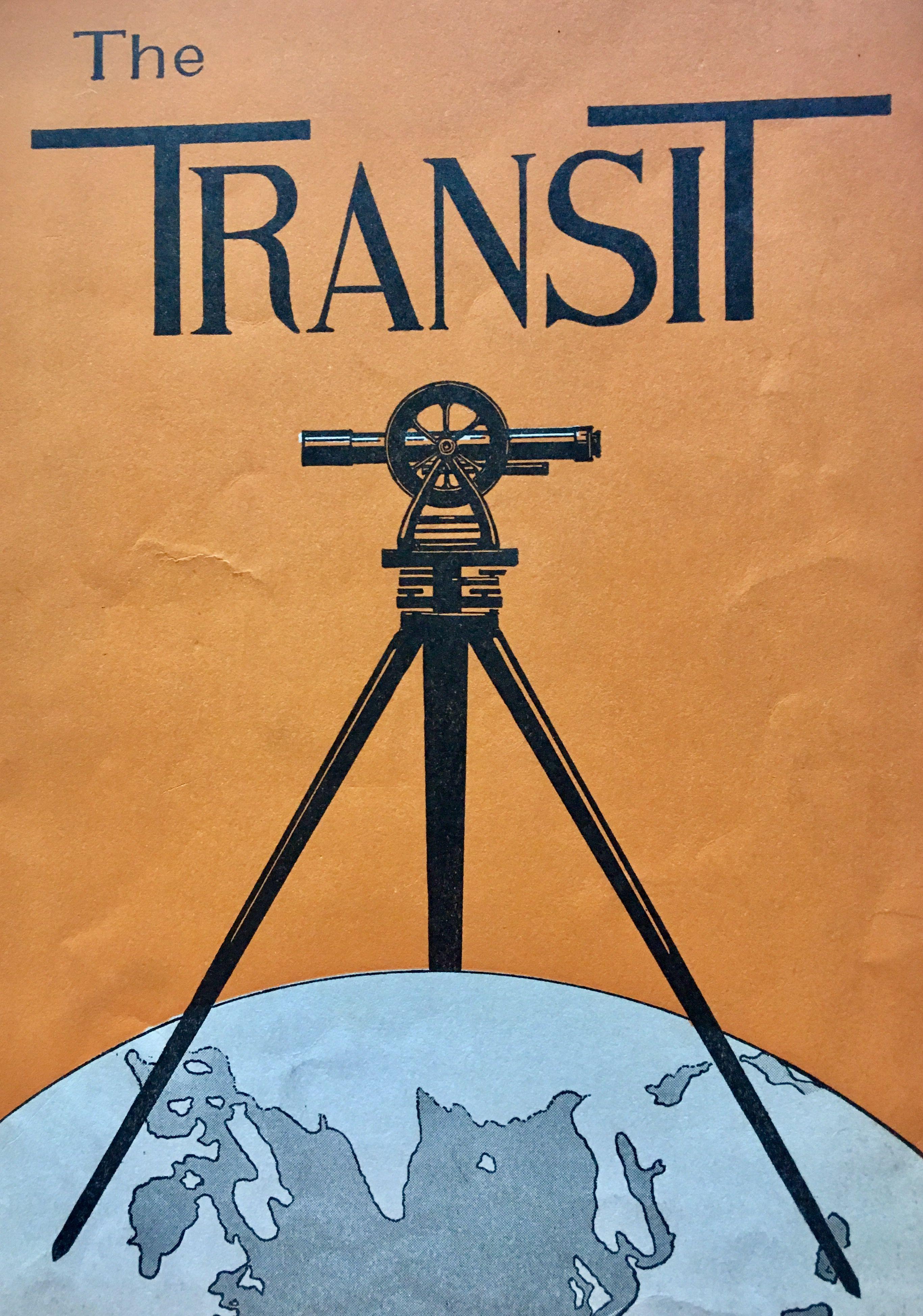 1929 The Transit Land surveyors, Cool posters