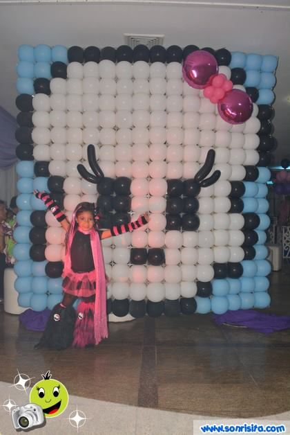 Monsterhigh Globos Decoraciones Fiestasinfantiles Festa