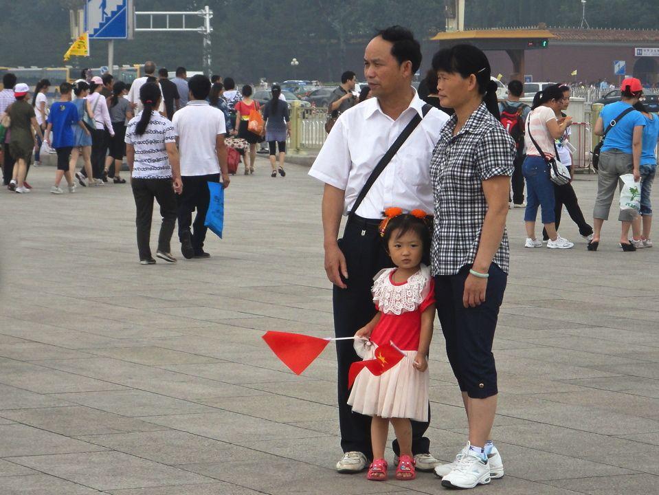 une famille un couple et une petite fille chinois pekin chine pinterest chine voyage. Black Bedroom Furniture Sets. Home Design Ideas