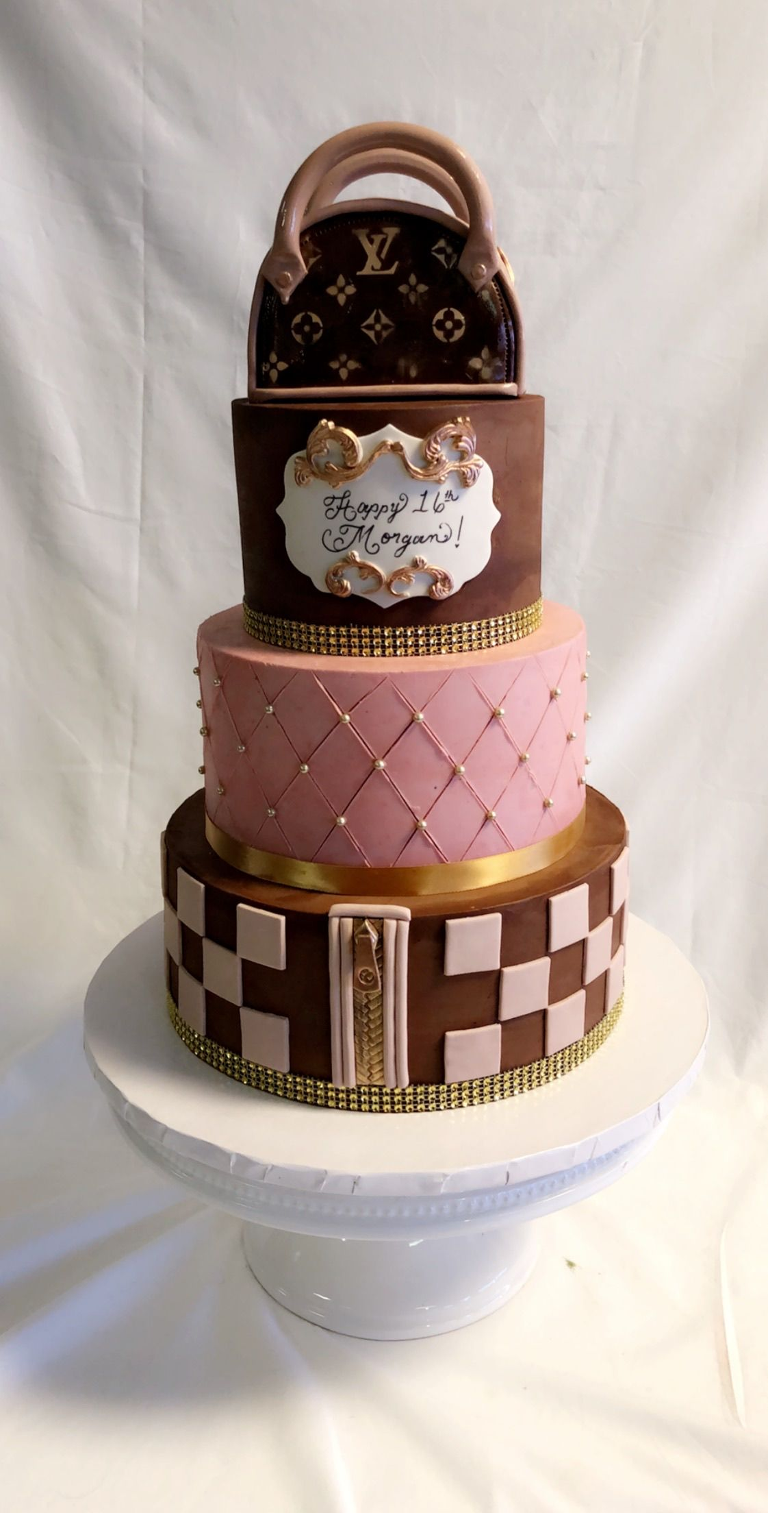 Morgan S Louis Vuitton Cake For Her 16th Birthday With Images