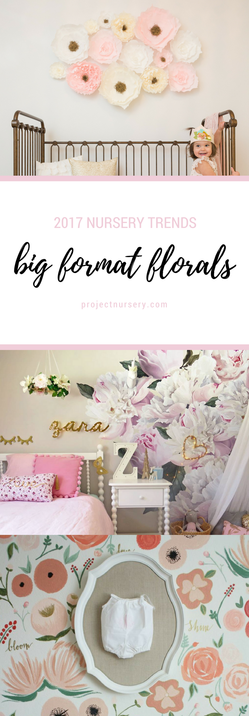 12 Nursery Trends For 2017 Tyxgb76aj This Floral Wall