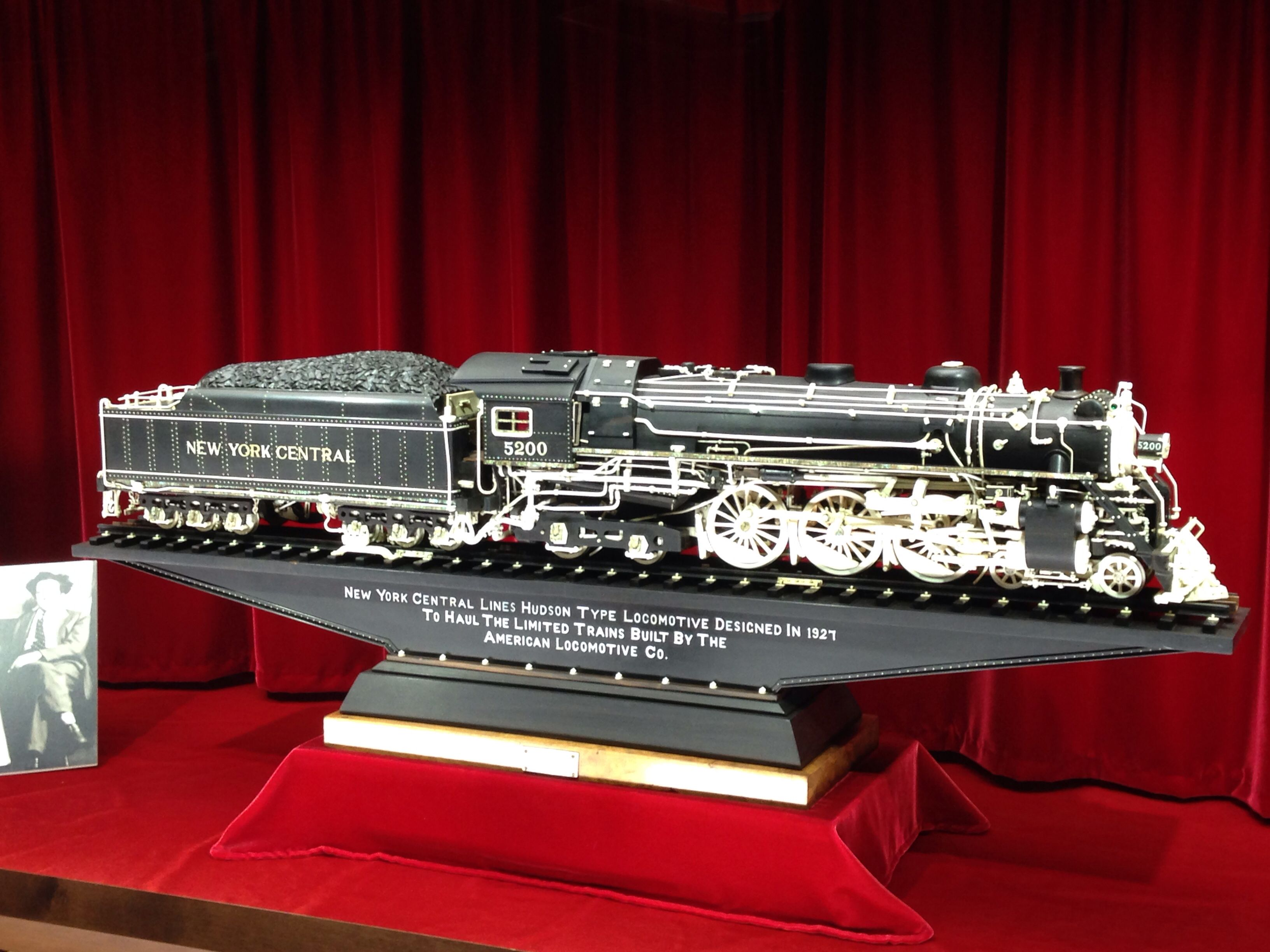 New York Central Hudson Model From The Warther Carving Collection New York Central New York York