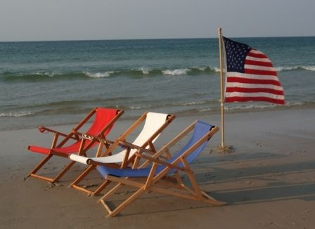 Fabulous Red White And Blue Beach Chairs Cape Cod Beach Chairs Short Links Chair Design For Home Short Linksinfo