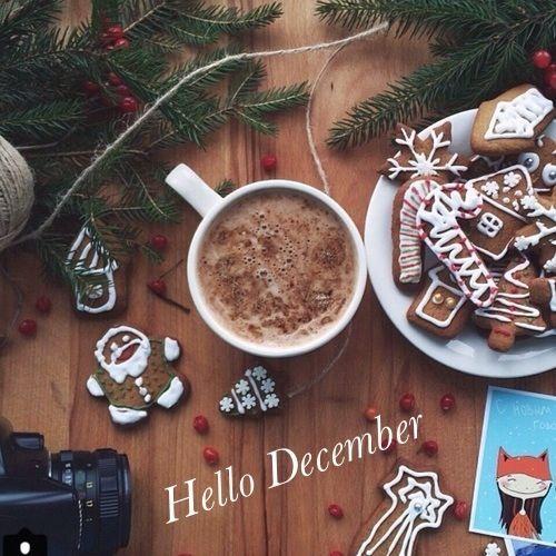 Hello December Christmas Image
