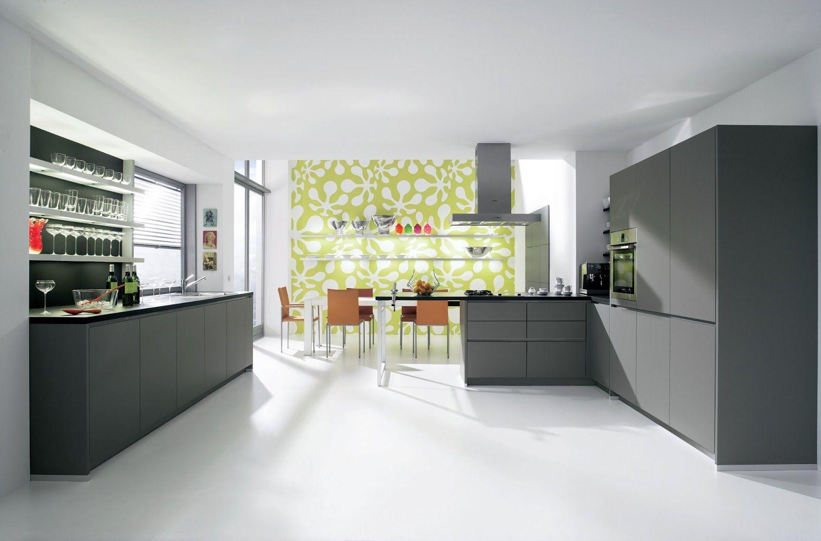 Cuisine Gris Anthracite Laquée cuisine design laquée mate gris anthracite   cuisines design