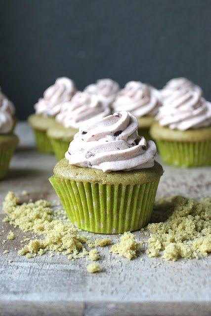 Matcha Azuki Cupcakes - will be making these