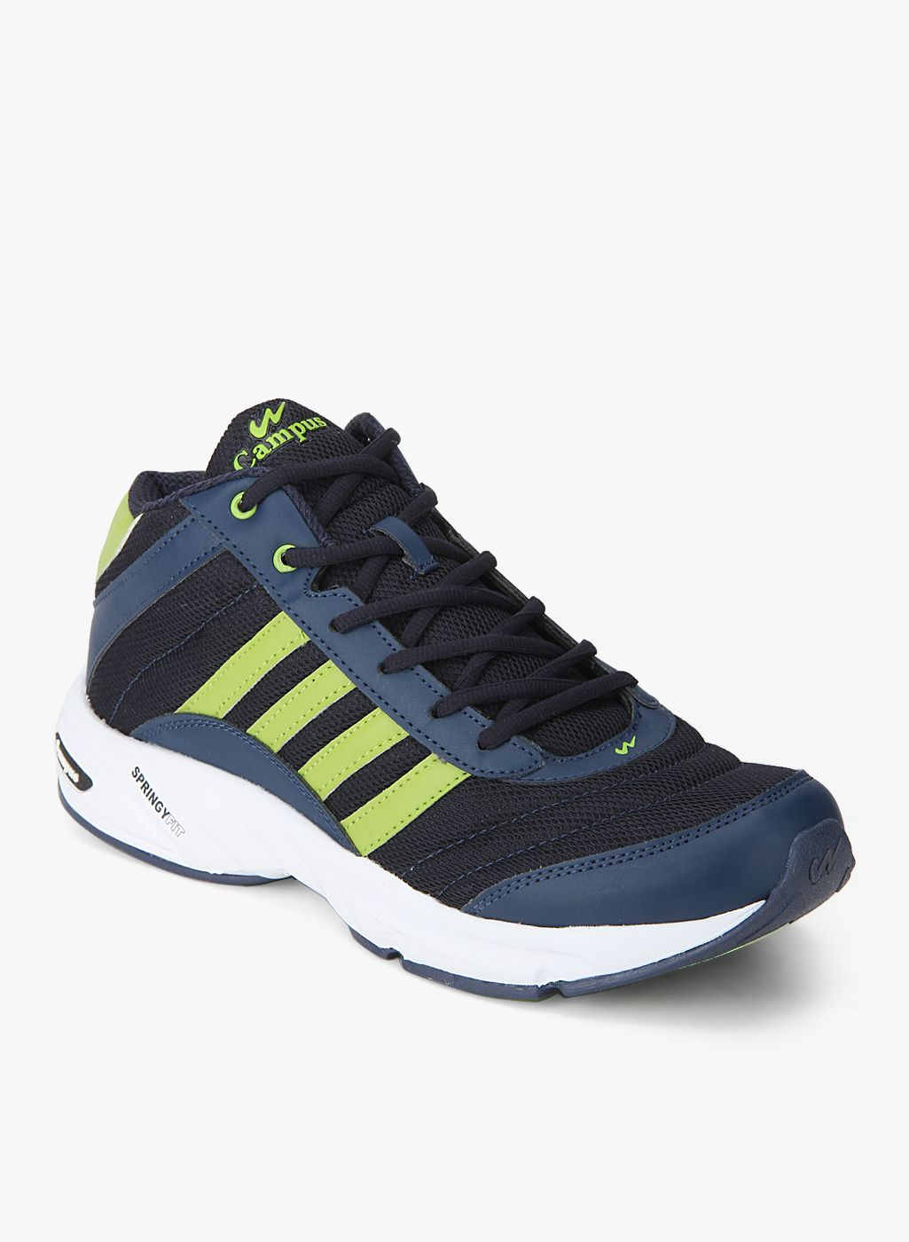 Campus Bond Navy Blue Running Shoes
