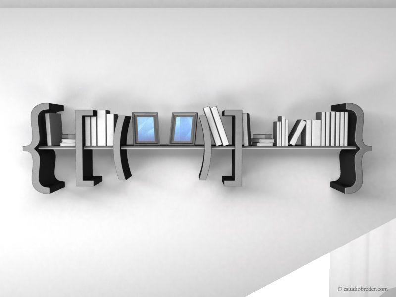 Equation Bookshelf El Librero En Forma De Ecuacin
