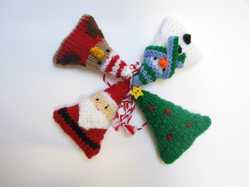 Christmas Knitties Knit Christmas Ornaments Knit Patterns And