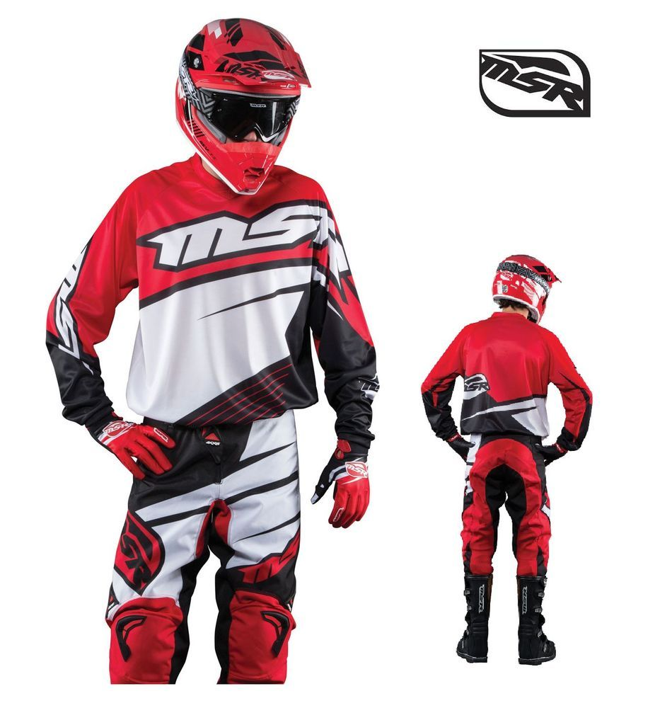 2015 Msr Racing Axxis Honda Red Mx Jersey Pant 2 3 Pc Combo Gear