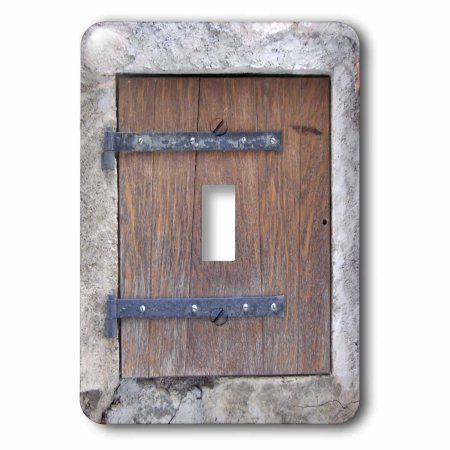 3dRose Wooden medieval style trap door photo print - offbeat humor ...