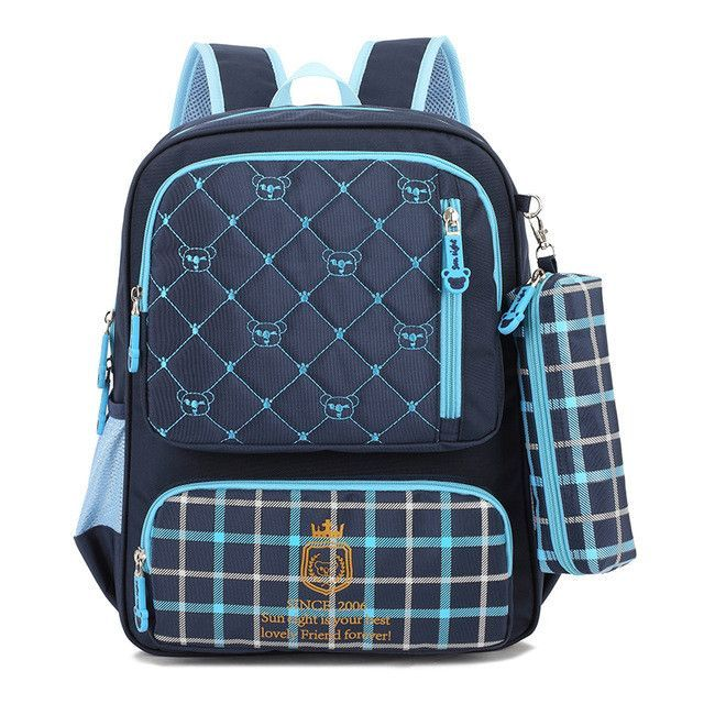 92dc57e4b8 Fashion Grades 3-6 Orthopedic Breathable Primary School Bags Kids Backpack  For Teenagers Boys Cute Girls Mochila Schoolbags