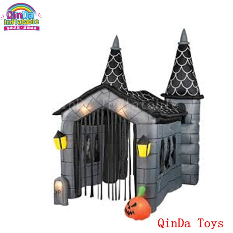 Giant halloween decoration inflatable pumpkin haunted house