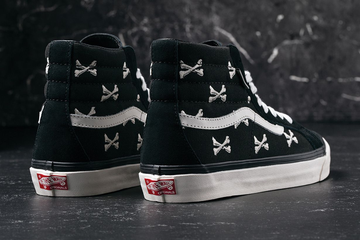 af05a7aecf5e Vans Vault x WTAPS s New Collection Goes Premium and Brings Back the  Beloved Crossbones Motif