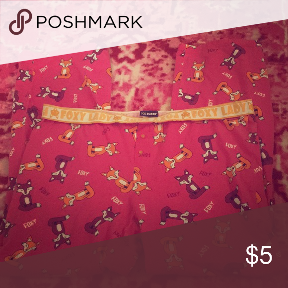 b93e00f567 Joe Boxer Foxy Lady Pants Xlarge Faded Lounge Joe Boxer Intimates   Sleepwear  Pajamas