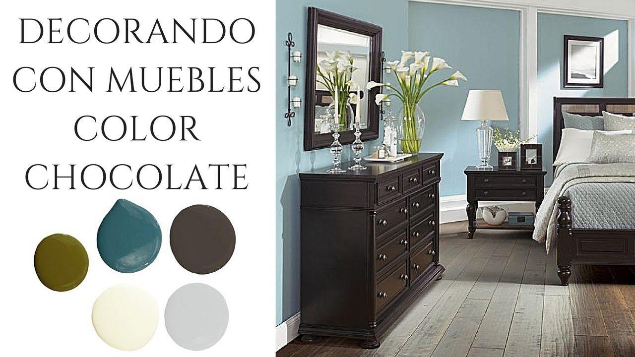 Decorando Con Muebles Color Chocolate Muebles Color Chocolate Muebles Chocolate Interiores De Casa