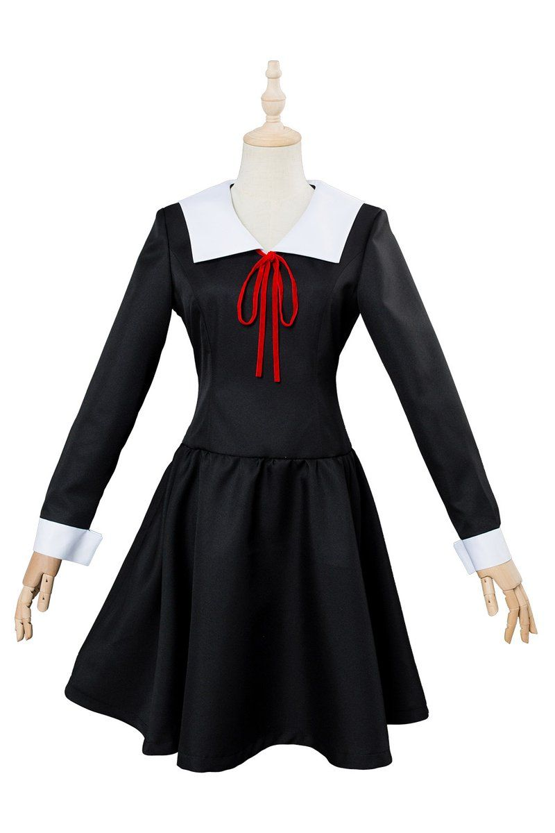 Anime Kaguya-sama Love Is War Kaguya Shinomiya Cosplay Costume Uniform Dress