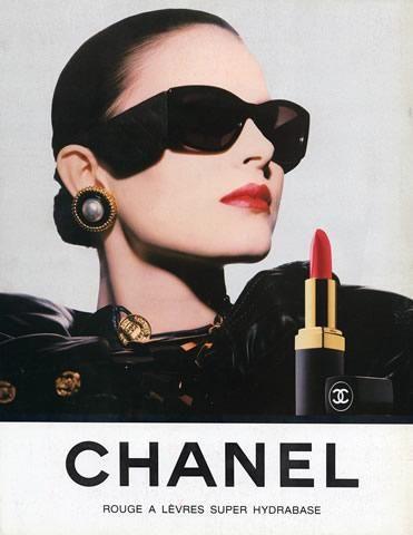 vintage chanel make up ads chanel ads pinterest