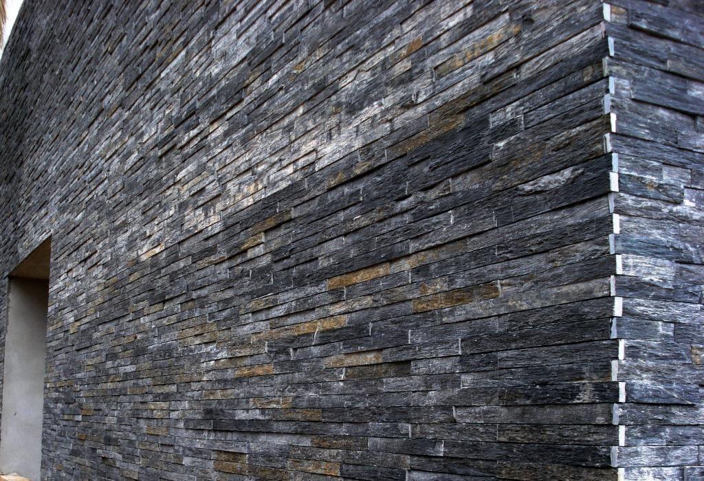 Schiste nord gris anthracite garage facade pinterest - Pierre de schiste ...