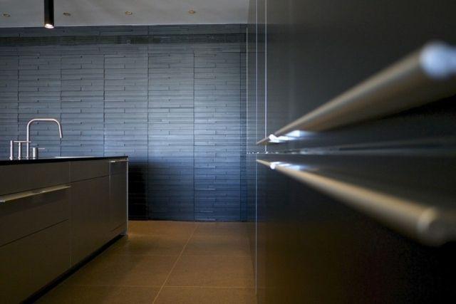metall optik k chenschr nkemoderne t rgriffe firmenk che pinterest k che neu gestalten. Black Bedroom Furniture Sets. Home Design Ideas