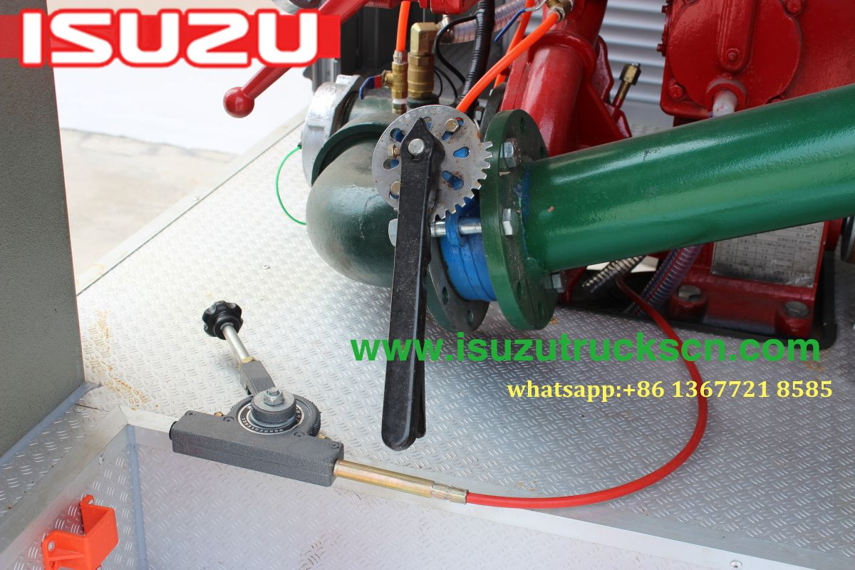 Nigeria isuzu fire engine fire fighting fire truck isuzu elf special truck water tank