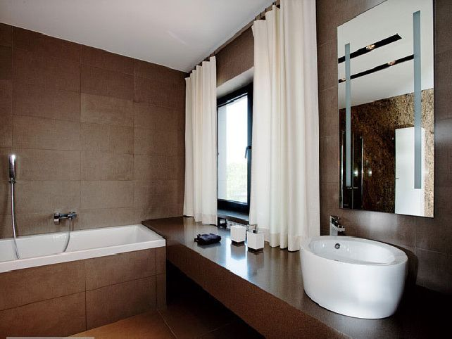 Brown And White Bathroom. Brown And White Bathroom Ideas Design More
