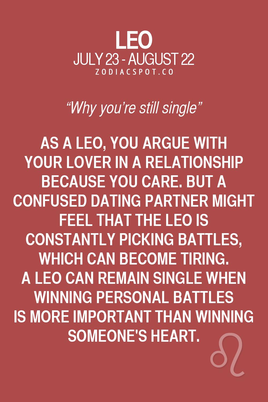 leo love horoscope for singles today