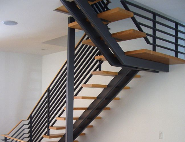 Metal Centre Stringer Stair Detail   Google Search