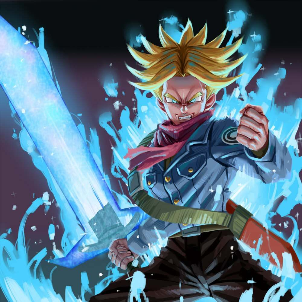 Trunks Wallpaper Hd Anime Dragon Ball Super Dragon Ball Artwork Dragon Ball Art