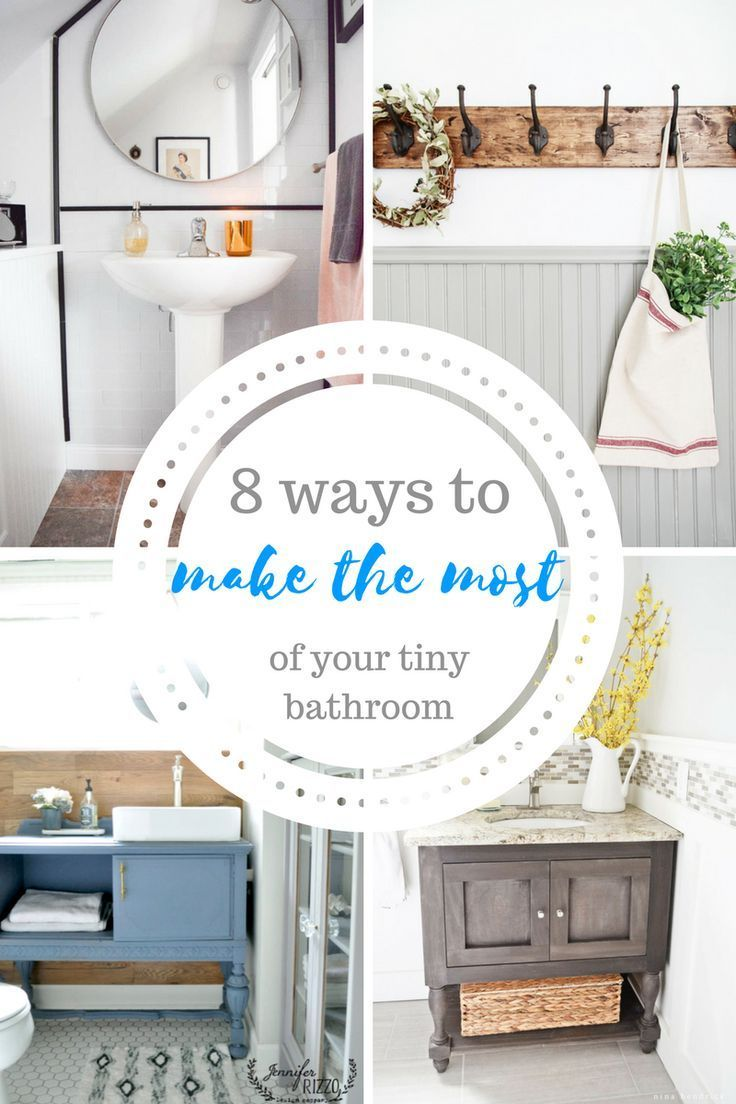Bathroom, Bathroom Decor, Small Bathroom Decor Tips, Decorating a ...