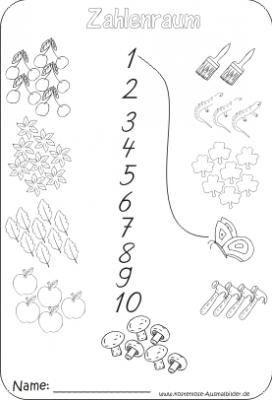 Zahlenraum | Grundschule | Rechnen Arbeitsblätter