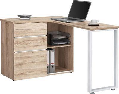 Eckschreibtisch 4057 In Wildeiche Schreibtisch Burotisch Eckschreibtischsparen25 Com Office Furniture Computer Desk Corner Computer Desk Home Office Desks
