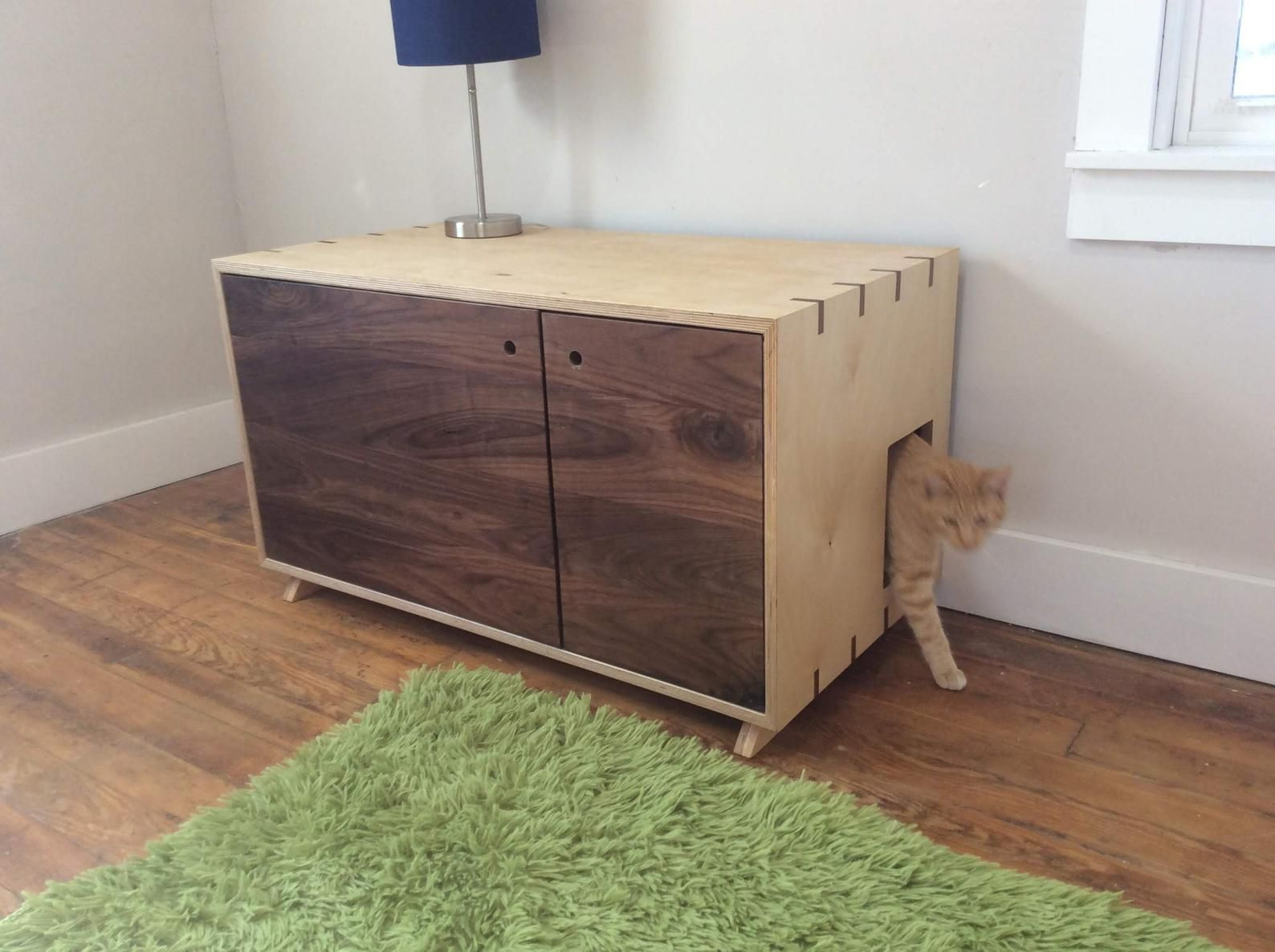 Cat Lover Litter Box Enclosure