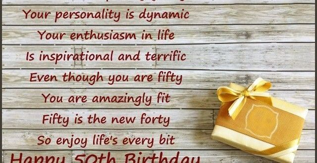 50th Birthday Messages Greetings Happy Wishes Quotes