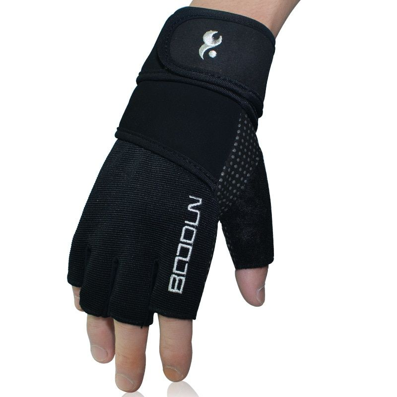 Men Women Fitness Gym Exercise Workout Weight Lifting Sport Gloves Wrist Wrap