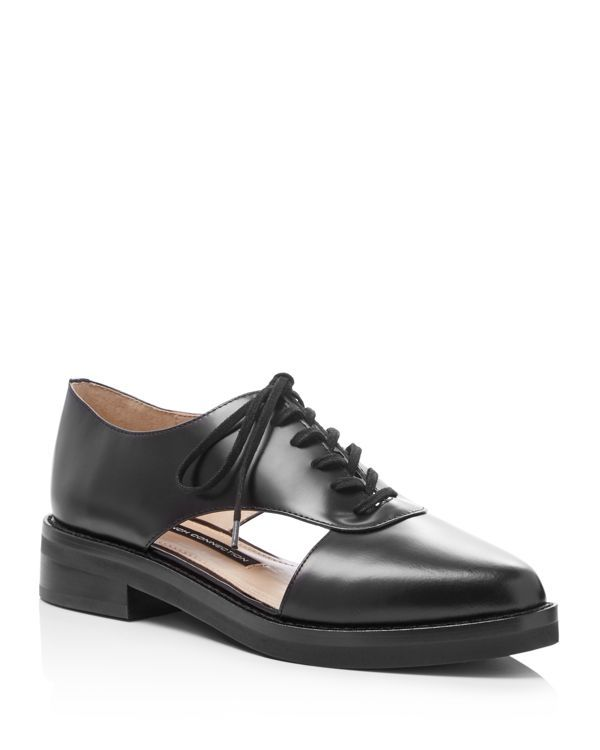 7dc6145c1a French Connection Mazin Cutout Side Lace Up Oxfords | Products ...